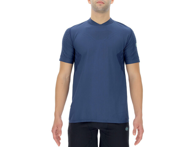UYN City Shortleeves Running Shirt Men, dress blue